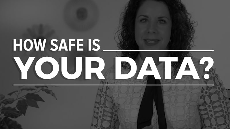 How safe is your data?