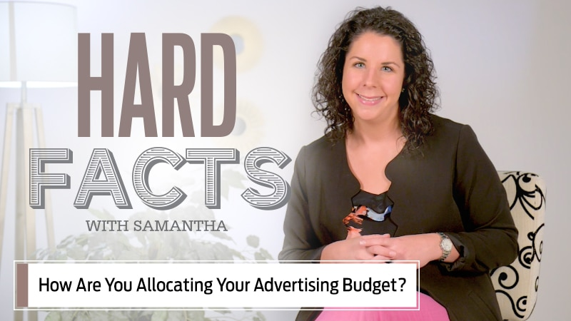How are you allocating your advertising budget?