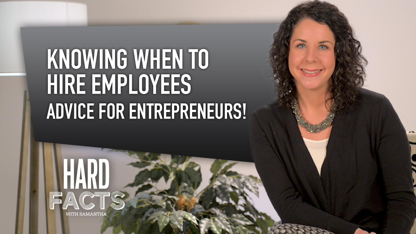 Knowing When To Hire Employees I Advice for ENTREPRENEURS!